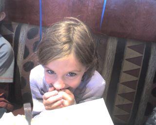 Daughter - 8th Birthday - Red Robin 1
