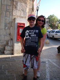 Israel 09 - Chuck Norris Shirt