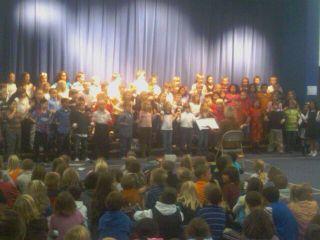 Daughter - 3rd Grade Musical 1