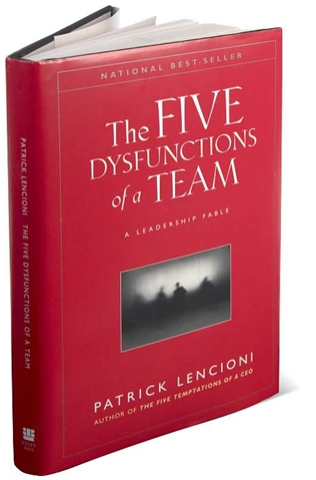 Book - 5 Dysfunctions of Team