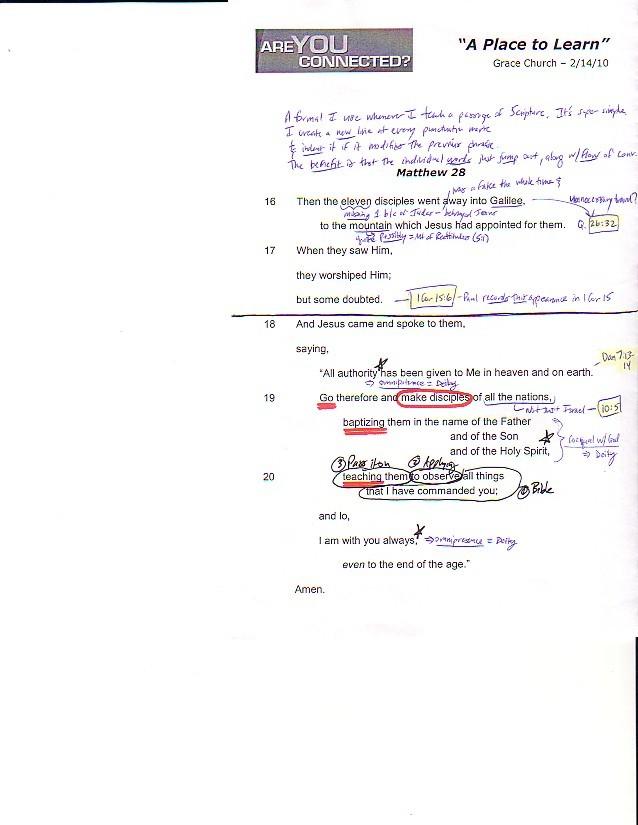 Study Guide - Matthew 28-16 (b)