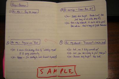 Prayer - 40 Day Journal 2