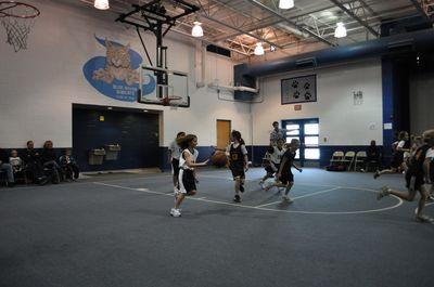 Daughter - Basketball 2010 Dribbling