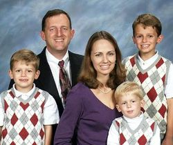 Pastor - Jim West and Family