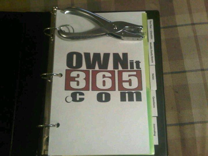 OWNit365.com - Brooke's Binder