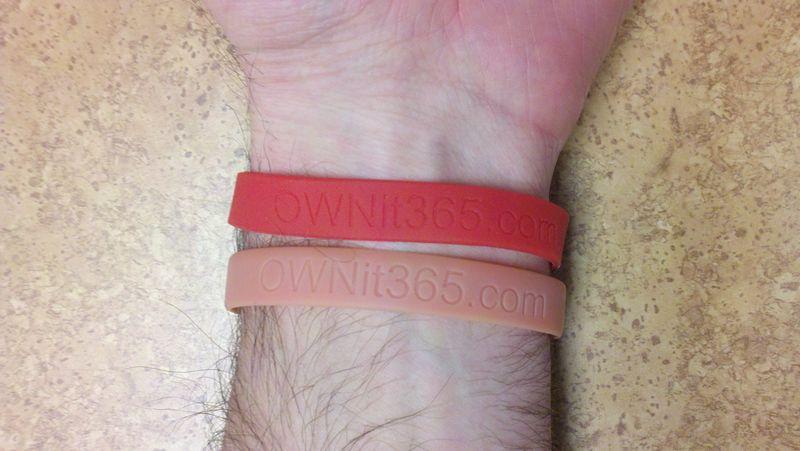 OWNit365 - Faded Bracelet